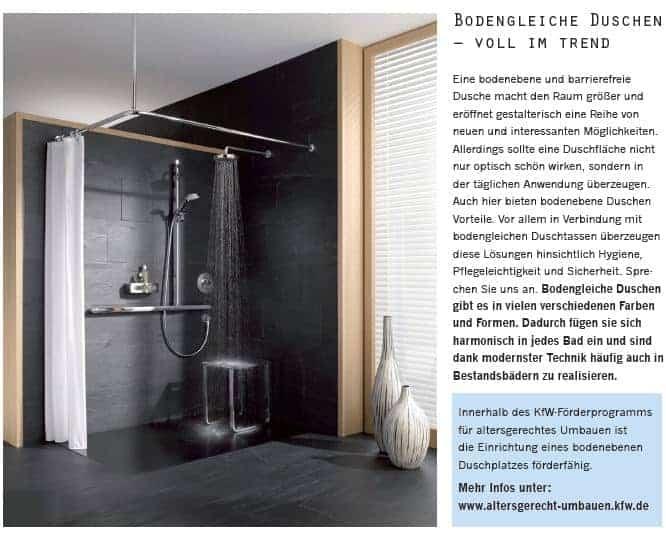 bodengleiche duschen bodengleiche dusche ein neuer trend erobert die bodengleiche duschen. Black Bedroom Furniture Sets. Home Design Ideas